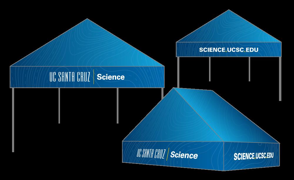 UC Santa Cruz Science popup mockups